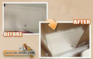 Shower tray Repair and resurfacing
