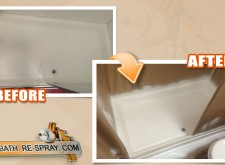 Shower tray Repair and resurfacing